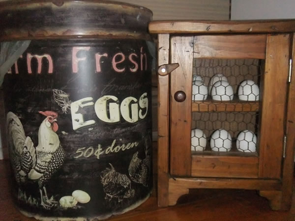 Complimentaty Farm Fresh Eggs