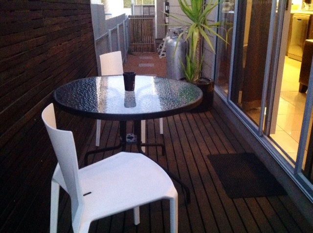 Alfresco Side Timber Decking